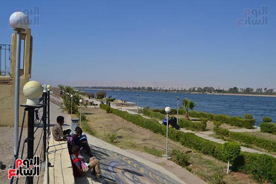 الاقصر، عيد الفطر المبارك، احتفالات المواطنين بالعيد، الملاهي بالاقصر (4)