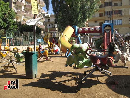 الاقصر، عيد الفطر المبارك، احتفالات المواطنين بالعيد، الملاهي بالاقصر (7)