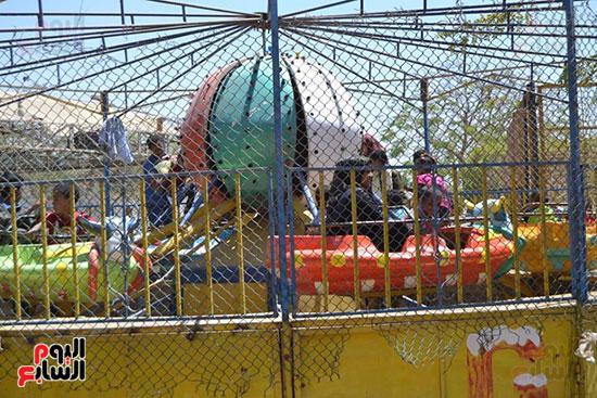 الاقصر، عيد الفطر المبارك، احتفالات المواطنين بالعيد، الملاهي بالاقصر (9)