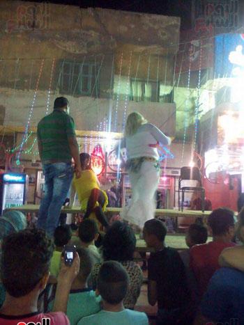 الراقصون في مهرجان السويس (2)