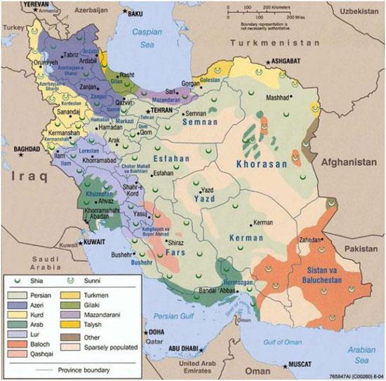 خريطة-ايران