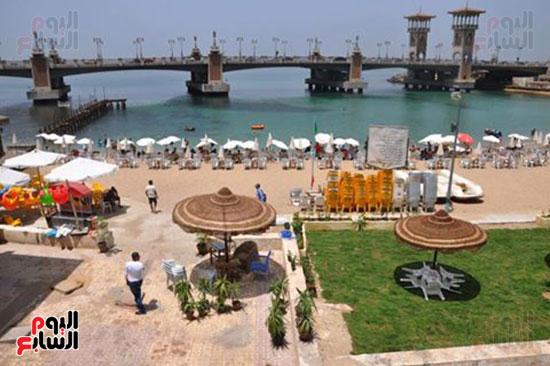 الاسكندرية، شواطئ الاسكندرية (1)