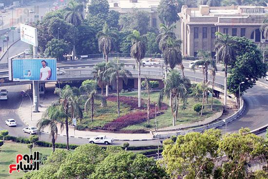 الجيزة، عيد الفطر، سيولة مرورية، القاهرة، تكدس مرورى (1)
