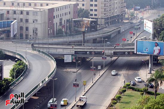الجيزة، عيد الفطر، سيولة مرورية، القاهرة، تكدس مرورى (2)