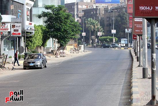 الجيزة، عيد الفطر، سيولة مرورية، القاهرة، تكدس مرورى (7)