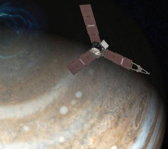 وكالة ناسا، أبحاث فضاء، رحلات فضائية، رحلة جونو، كوكب المشتري (1)