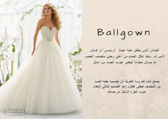 901ba41e1979d مش مجرد فستان أبيض.. قاموس أنواع وأسماء فساتين الأفراح