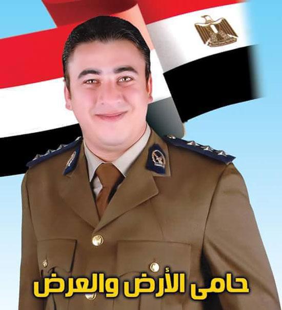 البطل محمود الكومى مع أسرته (10)