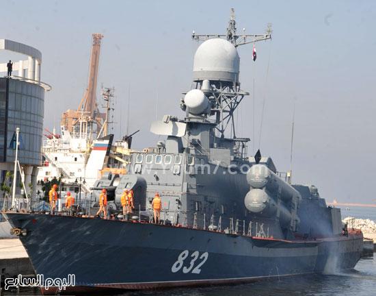 روسيا  تسلم  مصر  سفينة  صواريخ 82015151616234340-(10)