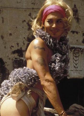 جونى ديب 1994 فى فيلم Ed Wood -اليوم السابع -8 -2015