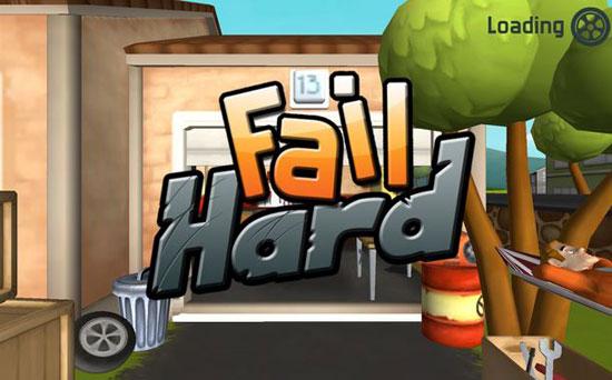 Fail Hard - لعبة بسيطة مسلية و ممتعة