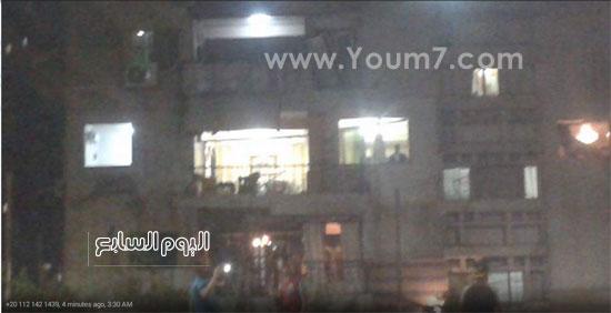إنفجار فى مبنى الامن الوطنى بشبرا الخيمة