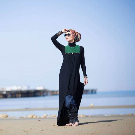 f5595e46ba509 ملابس بحر أنيقة ومبهرة. الفستان الطويل للشاطئ موضة لا تنتهى -اليوم السابع  -8 -2015