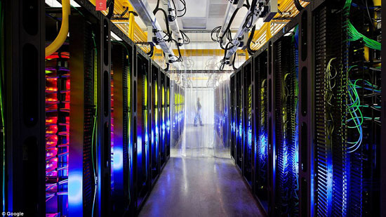 مركز بيانات جوجل - جولة داخل اضخم مركز بيانات فى العالم