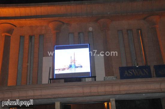 مظاهر الزينة بأسوان احتفالا بقرب افتتاح قناة السويس الجديدة -اليوم السابع -8 -2015