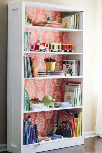 الكتب الملونة يمكن استخدامها لتزيين غرف الأطفال -اليوم السابع -8 -2015