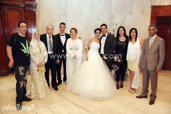 أسرة العروسين -اليوم السابع -8 -2015