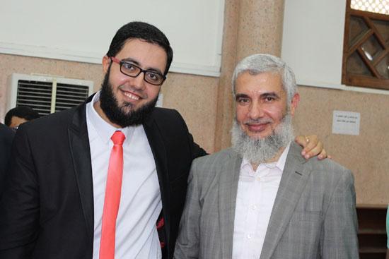 السيد مصطفى خليفة نائب رئيس حزب النور وزوج وابنته -اليوم السابع -8 -2015