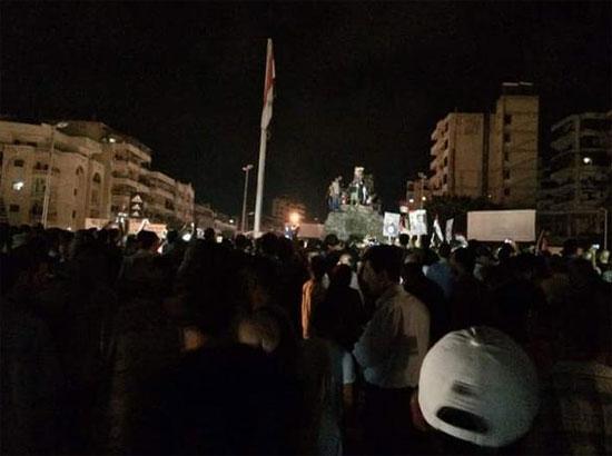 مظاهرات الطائفة العلوية  -اليوم السابع -8 -2015