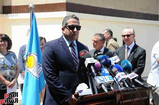 1 (5)وزراء الآثار والثقافة والسياحة يفتتحون متحف ركن فاروق بحلوان