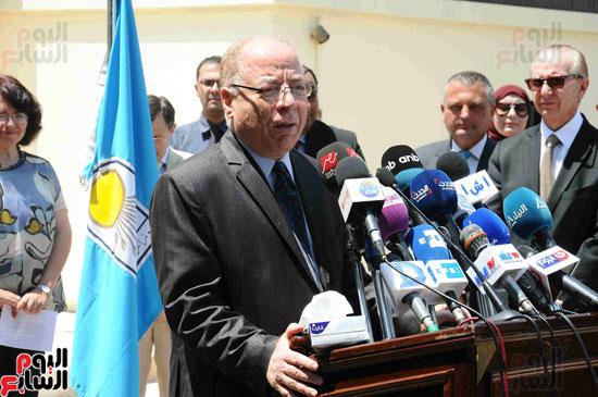 1 (8)وزراء الآثار والثقافة والسياحة يفتتحون متحف ركن فاروق بحلوان