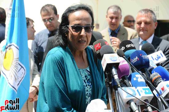 1 (12)وزراء الآثار والثقافة والسياحة يفتتحون متحف ركن فاروق بحلوان