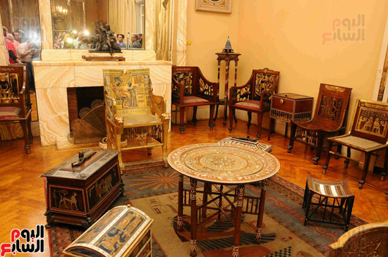 1 (21)وزراء الآثار والثقافة والسياحة يفتتحون متحف ركن فاروق بحلوان