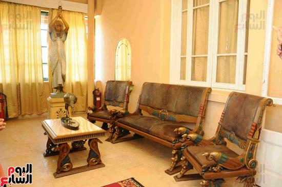 1 (26)وزراء الآثار والثقافة والسياحة يفتتحون متحف ركن فاروق بحلوان