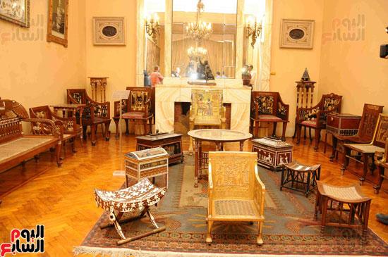 1 (27)وزراء الآثار والثقافة والسياحة يفتتحون متحف ركن فاروق بحلوان