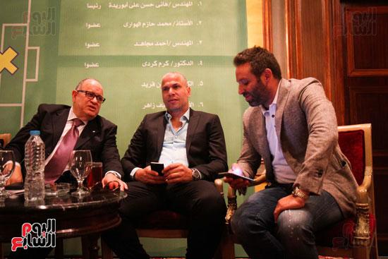 مؤتمر قائمة هانى أبو ريدة (3)