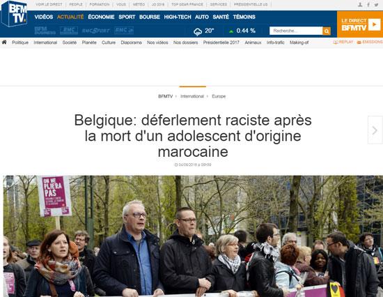 غضب-،سياسيين-ونشطاء-،بلجيكيين-ظاهرة-العنصرية،بلادهم