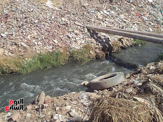 1كارثة بيئية تلوث مياه النيل بأسوان (2)