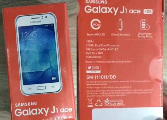سامسونج تطلق هاتفها Galaxy J1 Ace بشاشة سوبر AMOLED