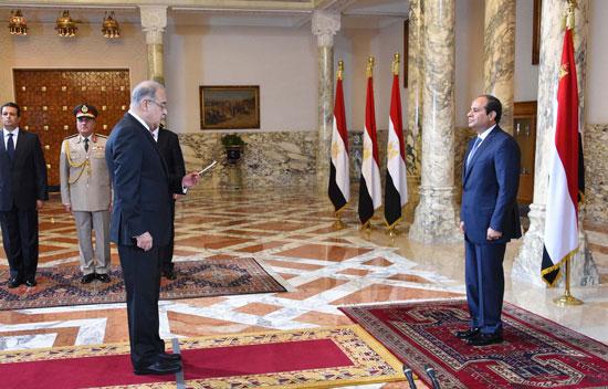 رئيس الوزراء شريف اسماعيل -اليوم السابع -9 -2015