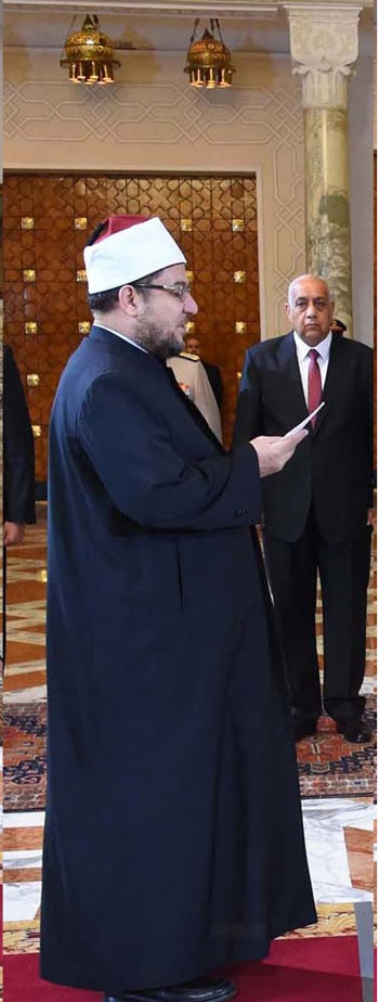 د. محمد مختار جمعة مبروكوزير الأوقاف -اليوم السابع -9 -2015