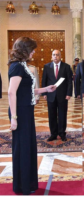السيدة/ نبيلة مكرم عبد الشهيد واصفوزيرة الدولة للهجرة وشئون المصريين بالخارج -اليوم السابع -9 -2015