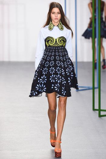 فستان قصير بالألوان الجريئة  -اليوم السابع -9 -2015