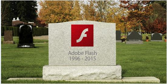 جوجل توجه ضربة قاضية لـ Adobe Flash بعد استياء الملايين منه