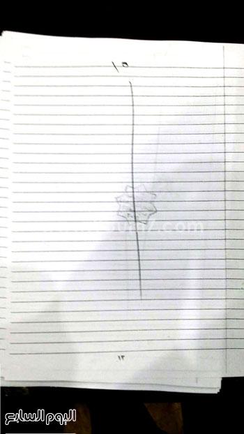 ننشر أوراق إجابات مريم صاحبة صفر الثانوى فى الكيمياء والأحياء 920152450581098