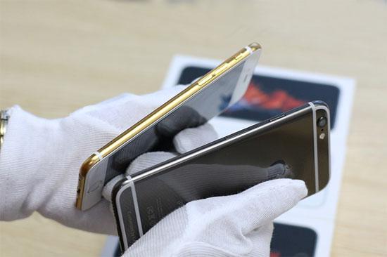 نسخة جديدة باللون الأسود الذهبى من iphone 6s