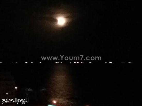 9 ـ خسوف القمر من الصديق عمر أكرم -اليوم السابع -9 -2015