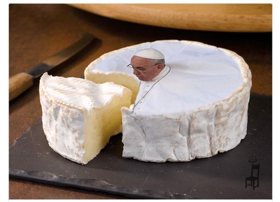 الفوتوشوب يغير صور البابا فرنسيس  -اليوم السابع -9 -2015