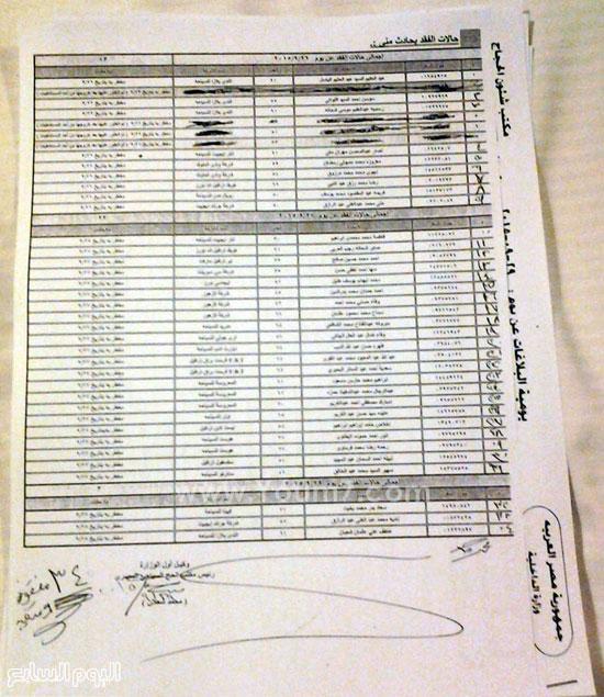 بيان باسماء الحجاج المصريين المفقودين حتى الان ادخل يمكن يكون لك قريب منهم  92015301253511492015300365023668353