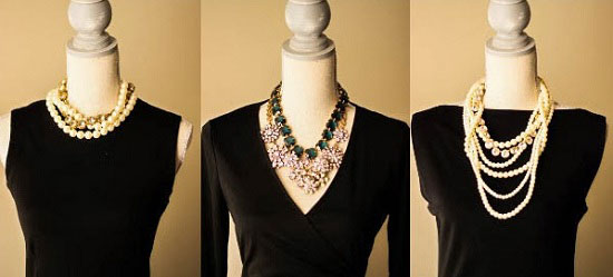 a098edc2b دليلك لاختيار الإكسسوار المناسب لفستانك الأسود..