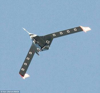 ناسا تطور طائرة بدون طيار بأجنحة مرنة تنحنى مع التيارات الهوائية