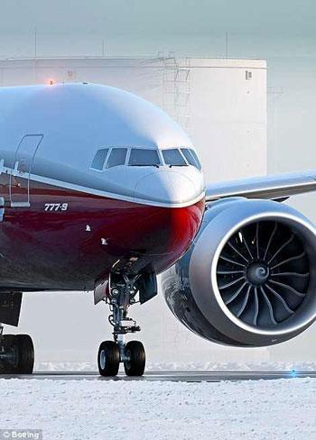 شركة بوينج تكشف عن طائرة باجنحة يمكن طيها لتتناسب مع المطارات