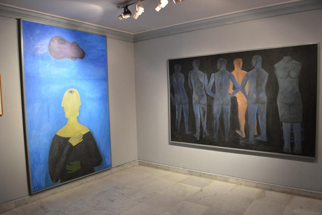 لوحات الفنان احمد مرسى
