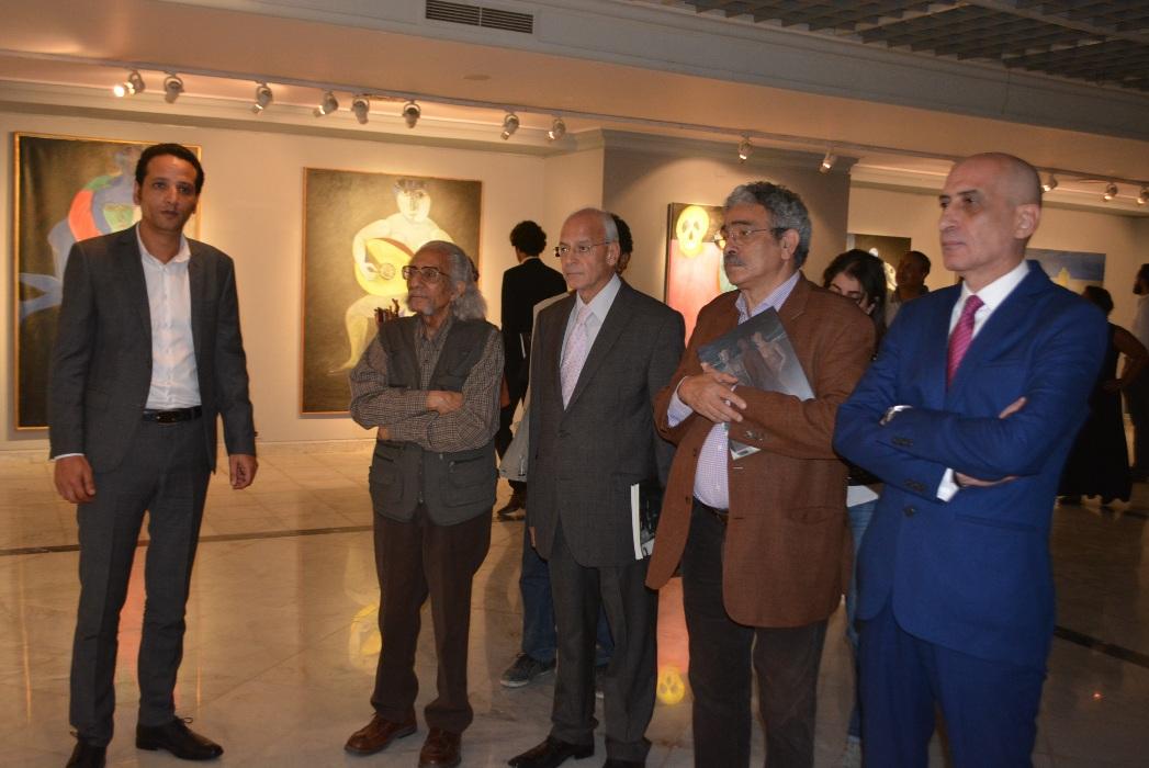خالد سرور فى معرض الاستيعادى لـ احمد مرسى