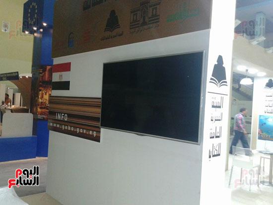شاشات العرض داخل معرض الجزائر