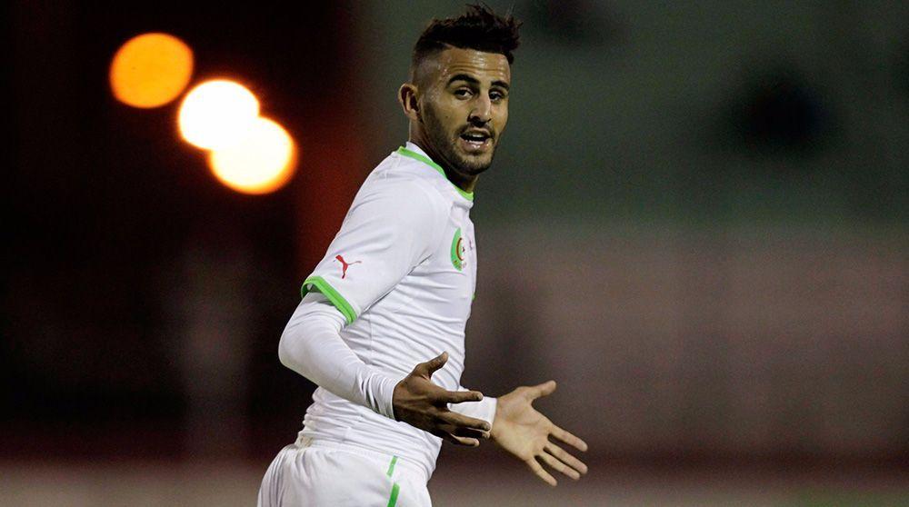 رياض محرز يهدر هدفًا سهلًا أمام تونس
